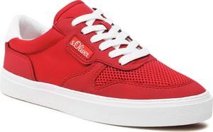Czerwone buty sportowe S.Oliver