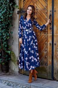 Granatowa sukienka Lemoniade