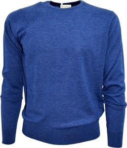 Niebieski sweter Cashmere Company z dżerseju