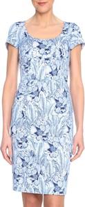 Sukienka Molton mini ołówkowa z krótkim rękawem