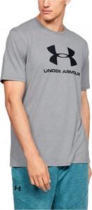 T-shirt darcet z krótkim rękawem w sportowym stylu z bawełny