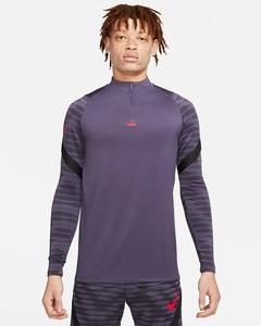 Fioletowa bluza Nike w sportowym stylu