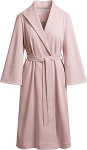 Różowy płaszcz RISK made in warsaw z bawełny