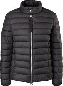 Czarna kurtka S.Oliver w stylu casual krótka