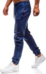 Jeansy Denley z jeansu w street stylu