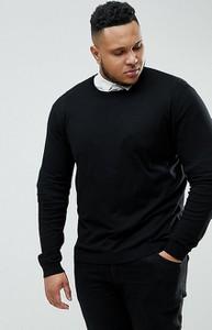 Czarny sweter Asos z bawełny