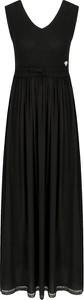 Sukienka Twinset z dekoltem w kształcie litery v bez rękawów maxi
