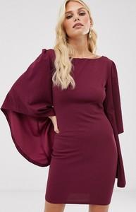 Fioletowa sukienka Ax Paris