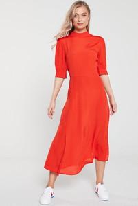 Pomarańczowa sukienka V by Very
