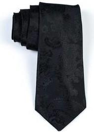 Czarny krawat R3s Men`s Accessories