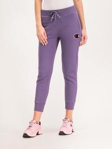 Fioletowe spodnie sportowe Champion w sportowym stylu