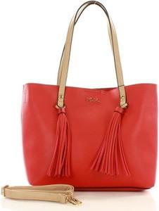 Czerwona torebka NOBO w wakacyjnym stylu duża