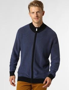 Niebieski sweter Andrew James Sailing z bawełny