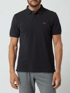 Koszulka polo S.Oliver w stylu casual z bawełny