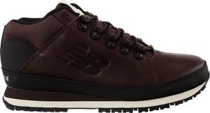 Brązowe buty zimowe New Balance sznurowane w sportowym stylu