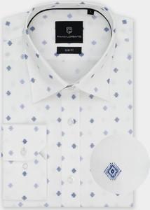 Koszula Pako Lorente z tkaniny z długim rękawem