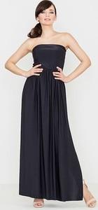 Czarna sukienka LENITIF maxi