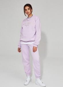 Różowa bluza LOCAL HEROES w stylu casual z bawełny