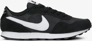 Czarne buty sportowe Nike w sportowym stylu z płaską podeszwą sznurowane
