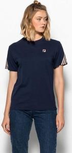 Czarny t-shirt Fila