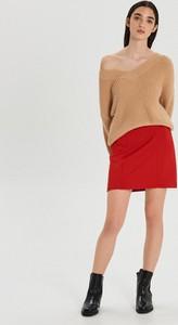 Czerwona spódnica Cropp mini