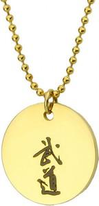 Manoki Damski medalion BUDO złoty