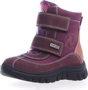 Buty dziecięce zimowe Naturino na rzepy
