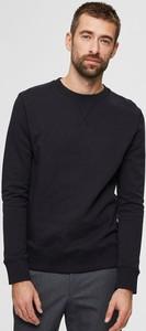 Czarna bluza Selected Homme w stylu casual
