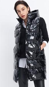 Czarna kamizelka Mohito w stylu casual