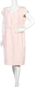 Sukienka Jacques Vert z okrągłym dekoltem prosta mini