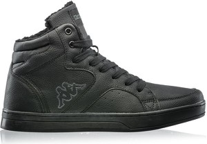 Czarne buty zimowe Kappa