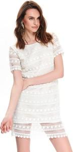 28e02545 Białe sukienki Top Secret, kolekcja lato 2019