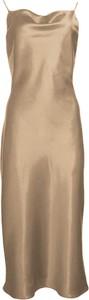 Sukienka So Fluffy z jedwabiu