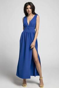Sukienka Nommo maxi z dekoltem w kształcie litery v