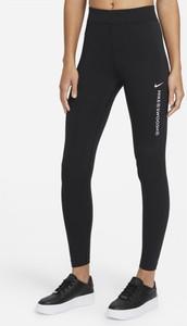 Czarne legginsy Nike w sportowym stylu