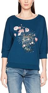Niebieska bluzka q/s designed by - s.oliver