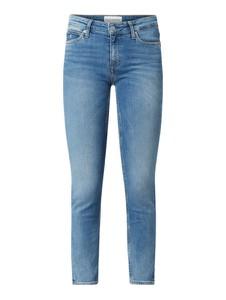 Niebieskie jeansy Calvin Klein w stylu casual z bawełny
