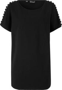 T-shirt bonprix bpc bonprix collection w stylu casual z krótkim rękawem z bawełny