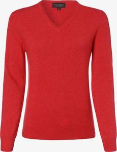 Sweter Franco Callegari z kaszmiru w stylu casual