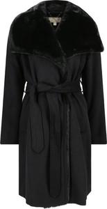 Czarny płaszcz Michael Kors w stylu casual