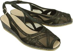 Zielone sandały Spiffy