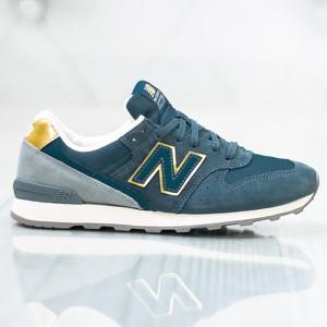 b0397b86a0583d Niebieskie buty damskie New Balance, kolekcja lato 2019