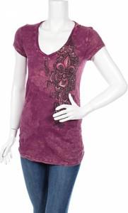 Fioletowa bluzka Mandee w stylu casual