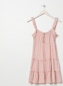 Sukienka Sinsay na ramiączkach z okrągłym dekoltem