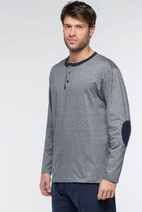 3a0f6154ac9acc piżama męska schiesser - stylowo i modnie z Allani
