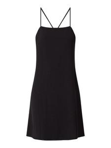Czarna sukienka Vila na ramiączkach