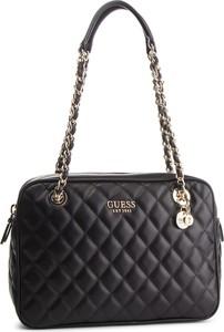 Czarna torebka Guess mała w stylu casual