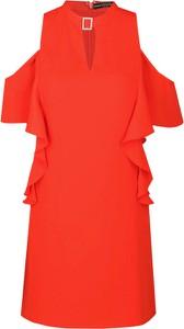 Sukienka Guess z krótkim rękawem