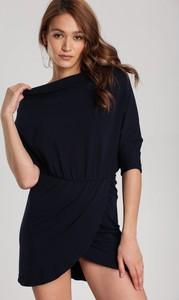 Granatowa sukienka Renee mini