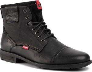 Czarne buty zimowe Levis